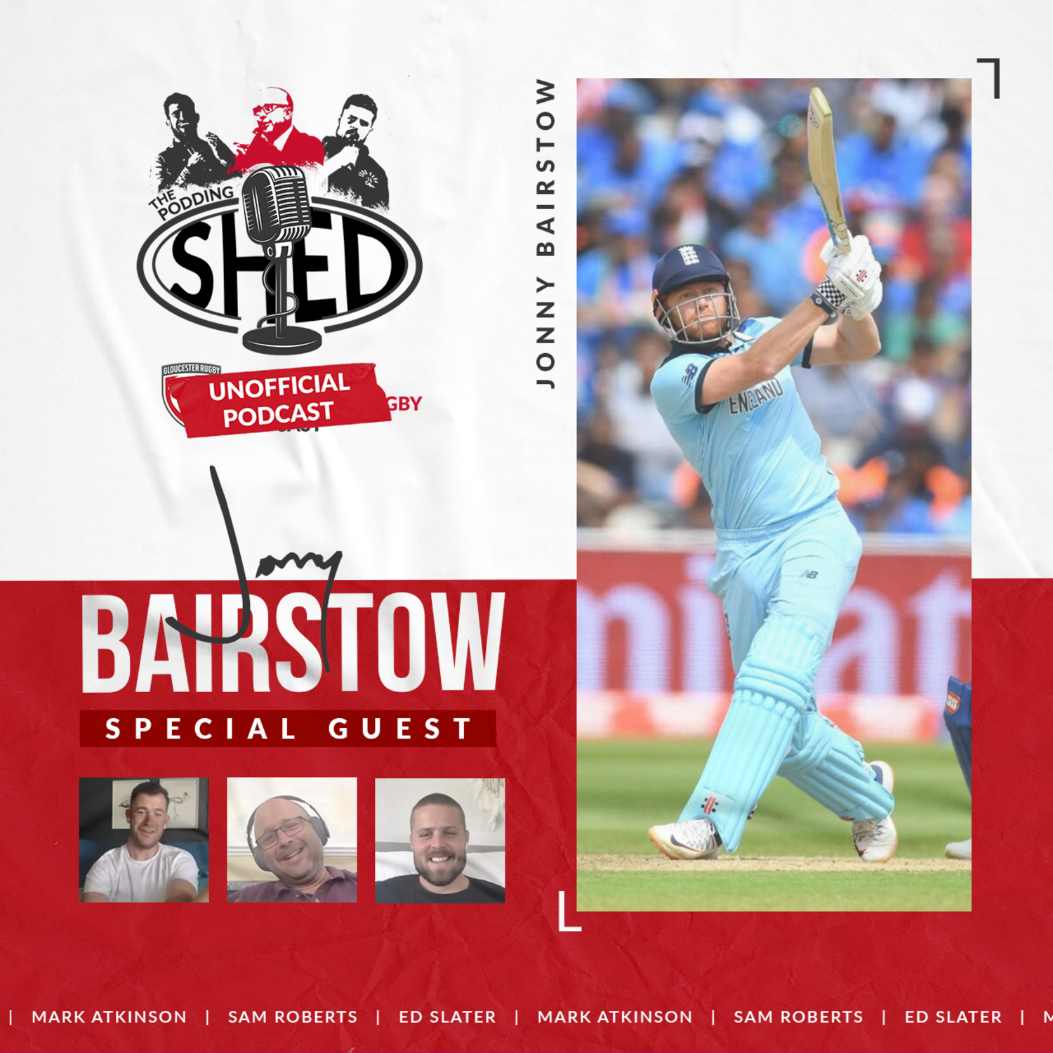 The Unofficial Podcast: Jonny Bairstow